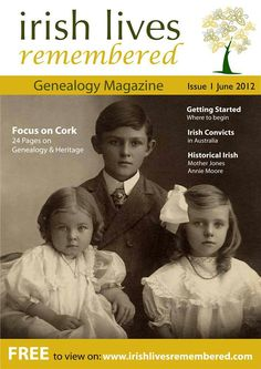 This is a fantastic - FREE --- on-line Irish genealogy Magazine.  Check it out!