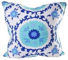 suzzani cushion