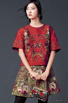 Dolce and Gabbana autumn 2014