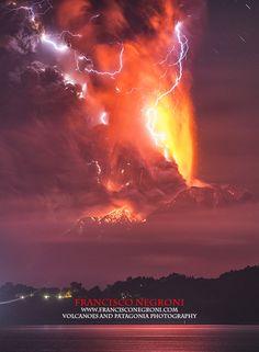 Calbuco Volcano Eruption, Chile, 2nd eruption, 2015