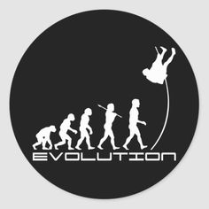Darwin's Theory Of Evolution, Darwin Theory, Volleyball Workouts, Pole Vault, Workouts For Teens, Vaulting, Modern Man, Round Stickers, Custom Stickers