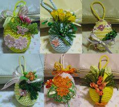 Creativa per gioco e per passione: Uova di Pasqua decorate