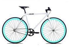 Golden Cycles Shocker Celeste Fixie Bike – Mr. Bikes