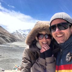 Got engaged. At Mount Everest. To the girl of my dreams. On my birthday.
