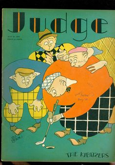 Judge-July 26, 1930-golf cover by Ed Graham
