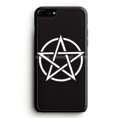 Pentagram Symbol Goth Metal Wiccan Magic iPhone 7 Plus Case | aneend