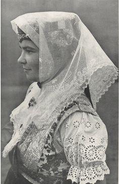 žena zo Ždiaru Slovakia