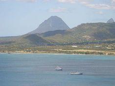 Castries St Lucia, St Lucia Honeymoon, St Lucia Caribbean, St. Lucia, Pastel House, Vacation Destinations, Tourism, Beach, Homes