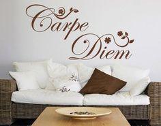 Carpe Diem-Flowers Quote