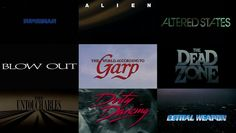 "A retrospective on the film title design work of R/Greenberg Associates, created to accommodate our feature article.  http://artofthetitle.com/feature/r-greenberg-associates-a-film-title-retrospective/  —   Website: artofthetitle.com Twitter: twitter.com/ArtoftheTitle Facebook: facebook.com/ArtoftheTitle  Music: Pale 3 ""Opening [Sissi Search]""  ++++++++++  Full film listing:  Superman (1978) Alien (1979) Altered States (1980) Flash Gordon (1980) Blow Out (1981) The Worl..."