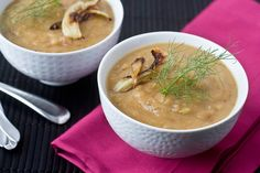 roasted potato and fennel soup