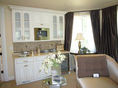 Master Bedroom Kitchenette coffee / snack bar in the master bedroom. no more running to the