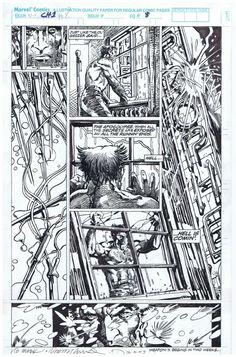 BWS - Wolverine Weapon X by Smith Comic Art