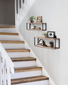 Decorating Stairway Walls, Staircase Wall Decor, Hallway Wall Decor, Stair Decor, Stair Walls, Staircase Remodel, Staircase Makeover, Entry Hallway, Staircase Design