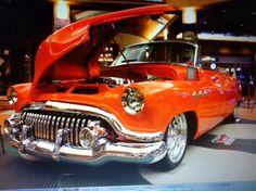 Buick, rare, Orange show Car Orange Cars, Orange Show, 50s Cars, Buick, Cupboard, Antique Cars, Crystals, Antiques, Hot