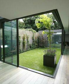 Garten in midlle house