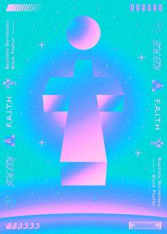 Faith Blank Poster on Behance