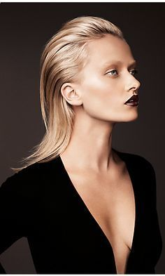 http://styleetcetera.net/trend-talk-slicked-back-hair/ Trend Talk, Slicked Back Hair, Wet-look hair, hair inspiration, hair trend