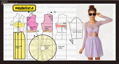 Ideas para el hogar: Molde de vestido