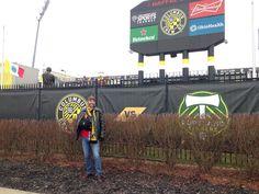 Chillin at Crew Stadium
