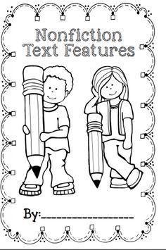 Enjoy a FREE copy of a nonfiction text features booklet! This is a great asset to Reader's Workshop!