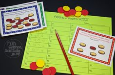 Adding Integers with 2 Sided Counters Task Cards Adding Integers, Math Task Cards, Early Finishers, Picture Cards, Fractions, Cover Pages, Math Lessons, Trauma, Classroom Ideas