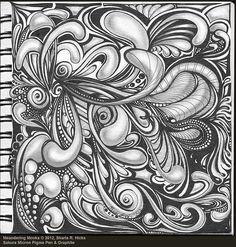 Meandering Mooka by Sharla R. Hicks CZT © 2012 by Sharla R. Hicks CZT, via Flickr