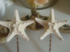 Summer Wedding Pair of Knobby Starfish Bobby by lorisartstudio, $7.50