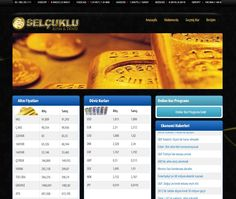 Selçuklu Altın ve Selçuklu Döviz Web Site ve Online Kur Yazılımı Tamamlanmıştır.