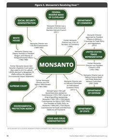 Monsanto's Revolving Door -  How come conflict of interest only applies to regular people?