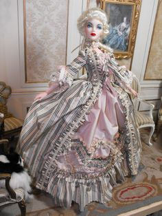 YumYum Couture's 18th century gown