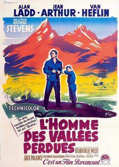 1954 L'HOMME DES VALLEES PERDUES