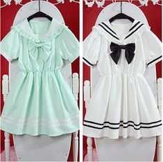 Fabric: Chiffon  Color: white, mint green  Size: Free  Length: 70CM Bust: 88CM Shoulder: 40CM Waist: 60 ~ 96CM