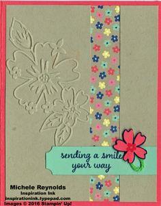 Love & affection flower strip smiles watermark
