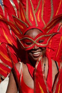 Jouvert Carnival celebrations, 2008 ~ Woodbrook, Port-of-Spain, Trinidad and Tobago (photo by Andrea DaSilva/EPA)....