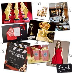 Oscar/Hollywood Themed party