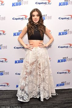 What a night: The singer and actress also hit the Los Angeles KIIS FM Jingle  Ball on Frid...
