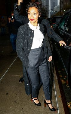 Ruth Negga from The Big Picture: Today's Hot Pics  The actress doesn't let a little rain get her down while promoting her movie Loving in New York.