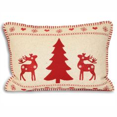 Cushion with reindeer and snowflake design to the face side. Great for a scatter cushion or accent cushion. Perfect for your Christmas cushions Small Pillows, Decorative Cushions, Scatter Cushions, Christmas Cushion Covers, Christmas Cushions, Christmas Crafts, Christmas Decorations, Christmas Ideas, Christmas Applique