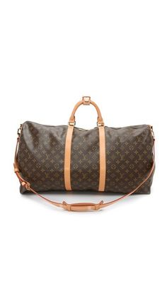 Monogram What Goes Around Comes Around 2004 Louis Vuitton Keepall 60 Duffel (Previously Owned)