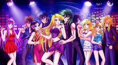The Patriarch and his maidens by locofuria on DeviantArt Saints, Jojo's Bizarre Adventure Anime, Familia Anime, Fanart, Armor Of God, Comic Games, Deviantart, Hades, Aphrodite