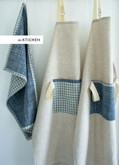 linen apron DIY