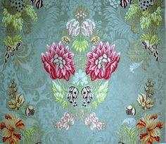 """""""Valencia"""", manual silk fabric from Garin company (Valencia, Spain)"""