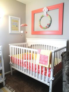 Boy and Girl Shared Room, A toddler boy who loves golf and a new baby girl who needs some glam crammed into one room. Lots of storage for toys and a big wall for books and artwork., Nurseries Design