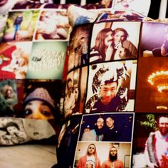 Instagram pillows...interesting  Fab.com