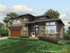 Eplans Contemporary-Modern House Plan - Four Bedroom Contemporary - 3651 Square Feet and 4 Bedrooms from Eplans - House Plan Code HWEPL64176