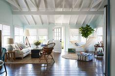 Ich will eine Hängematte im Wohnzimmer! Und Deckenbalken in weiß!