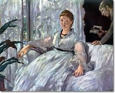 Edouard Manet - The Reading Painting