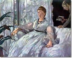 Edouard Manet - The Reading Painting