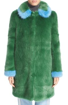 Shrimps 'Abatha' Faux Fur Coat available at #Nordstrom